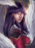 Ahri by tallandquirky