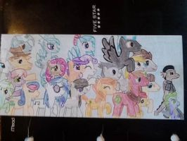 A.B.O, Spike, Alf and their friends by justaviewer94