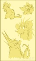 Roxatouille Sketches -Old- by Nyaasu