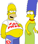 Homer's Fat Tummy by Mighty355