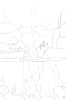 RiME Line Art Challenge by Charger90
