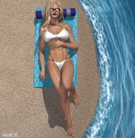 Ultrawoman's Sun Therapy by hotrod5