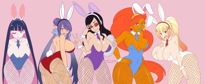 Bunny Girl Cosplay Winners! by that-girl-whodraws