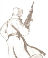 Russian Soldier by King-of-Earth