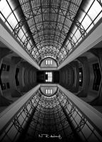 Perspective in BW by nhiqiyut-photography