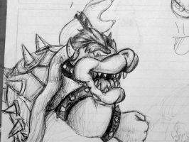 Bowser Argh by GRAMOTOONS