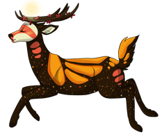 Poppy the Deer by Noxx-ious