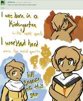 Ask Citrine #1 .:Ask:. by MoonSpaghetti