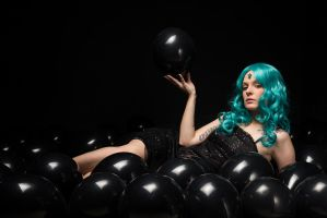 Sailor Neptune in Balloons 01 by KittyTheCat-Stock