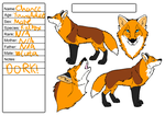 Chance feral ref by WolfHawksCub