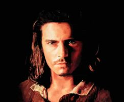 Orlando Bloom as Will Turner by tribbs