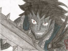 gajeel by axel13579