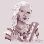 Portrait Commission: Natya by fee-absinthe