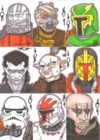 Star Wars Galaxy 5 batch 8 by NORVANDELL