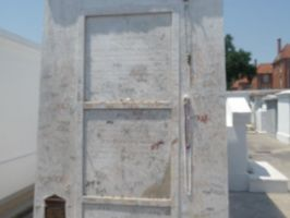 Marie Laveau's grave by Gothicpyre