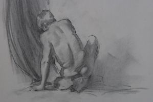 Figure Drawing } by Wildweasel339