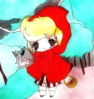 Little Red Riding Boy by TeapotDomescam
