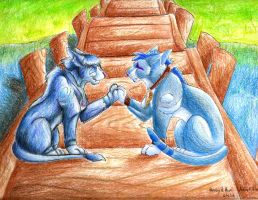 Together Forever, My Love by WolfWindWarrior