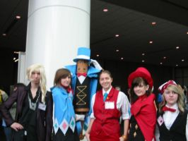 Ace Attorney Crew by MirielleChan
