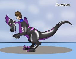 Rubber Raptor Suit TF by Auroracuno