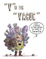 V Is For Vague by OtisFrampton