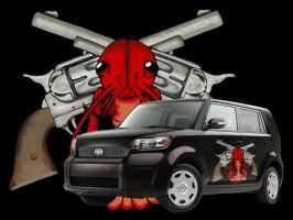 lobsters with guns by happycabbage777