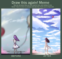 Meme: Before and After [KHR] by Rika-tyan