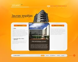 Solanet Design Orange by treconor