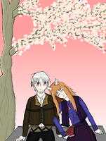 Spice and Wolf Contest Entry by AlceX