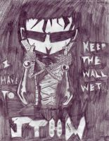I Have To Keep The Wall Wet... by Slash-Free-JCV