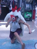 Princess Mononoke AX 2011 by MidnightLiger0