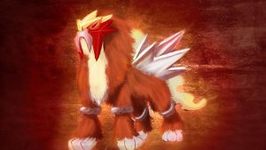 Entei by Caubc