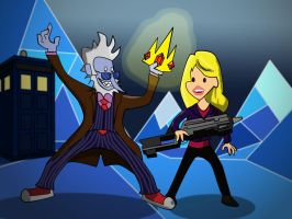 10th Doctor Ice King by richardnixon1968