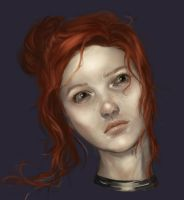 Redhead by awushness