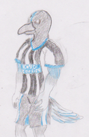 Monty Magpie by WhippetWild