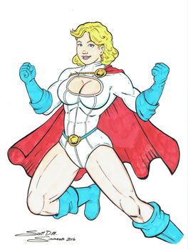 Power Girl by Scott DM Simmons by cerebus873