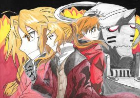 Full Metal Alchemist by forgottenlegend
