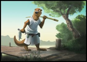 Morning Catch by Temiree
