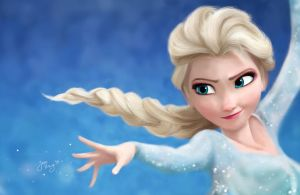 Elsa - Frozen by Jake-Kot