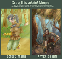 Meme Before And After: Longteeth Shifter by R-Aters