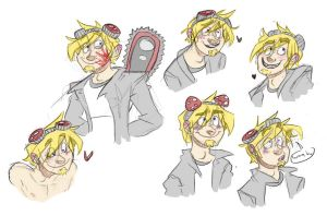 Colored Duncan sketches by MissMistyMoo