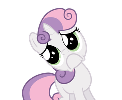 Sweetie Belle - Manipulative/HNNG Face by Guillex3