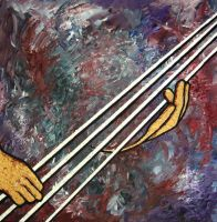 Andreas' Bass by jfkpaint