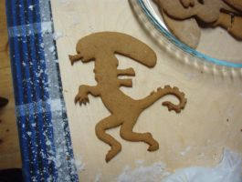 Alien gingerbread by vororov