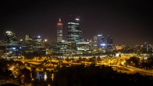 Perth @ night by DrDrum666