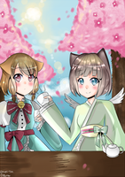 [Contest] Tea Under Cherry Blossoms by Keri-tan