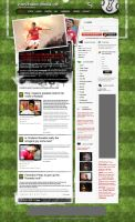 Fantastic Soccer Blog Design by PsdThemes
