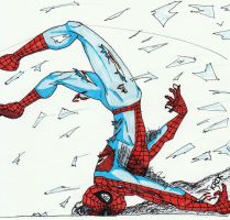 Spider-Man Fight by sasukevsnaruto101