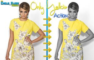 Only Yellow Action by CheloGleek