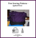 Free Sewing Pattern - Quilted Purse by StarValkyrie